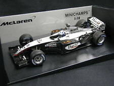 Minichamps McLaren Mercedes MP4/18 2003 1:18 #5 Coulthard (FIN) Testcar (JS)