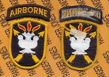 US ARMY JFKSWC Special Warfare Command Airborne SF School dress m/e patch