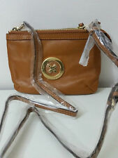 Mimco Leather MIM Supernatural Couch Hip Across body Hand Bag Brand New Honey