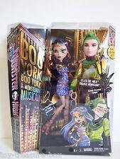 Monster High BOO YORK Monsterrific Musical Cleo de Nile & Deuce Gordon Dolls