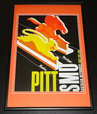 1938 Pitt Panthers vs SMU Football Framed 10x14 Poster Official Repro