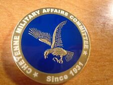 2003 Cheyenne Military Affairs Committee Chairman Pete ILLOWAY Challenge Coin