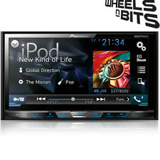 "Pioneer AVH-X5800DAB Car CD DVD 2DIN Bluetooth Stereo 7"" LCD DAB  iPod   Aerial"