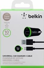 Belkin 2.1amp Micro USB Charge Sync Car for Samsung Galaxy S7 S6 LG,Nokia,HTC
