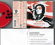 "MADONNA American Life Remixes JAPAN 6-track 5"" CD WPCR-11610 w/NOT FADED OBI"