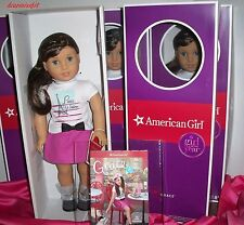 AMERICAN GIRL DOLL OF THE YEAR 2015  GRACE THOMAS WITH BRACELET- BOOK- NEW 18""