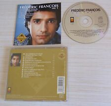 RARE CD ALBUM BEST OF GOLD COLLECTION VOL 1 FREDERIC FRANCOIS 13 TITRES 1995