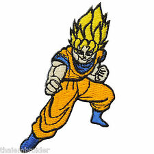 Dragon Ball Z Goku Saiyan Hero Cartoon Game Kids Children Iron-On Patches #C035