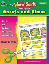 Dr. Fry's Word Sorts: Working with Onsets and Rimes, Fry, Dr. Edward, Good Book
