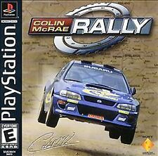 Colin McRae Rally (Sony PlayStation 1, 2000) - US NTSC VERSION COMPLETE