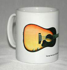 Guitar Mug. George Harrison's Gibson J-160E illustration.