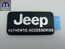 JEEP 1997 - 2013 FRONT FASCIA EMBLEM NAMEPLATE BADGE DECAL