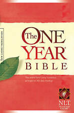 One Year Bible-Nlt (One Year Bible: New Living Translation-2), By ,in Used but G