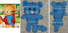 CUSTOM Boutique CROCHETED STUFFED DANIEL TIGER TIGEY unique gift