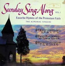 THE ALMANAC SINGERS sunday sing along volume 1 LP VG W 1354 Vinyl 1959 Record