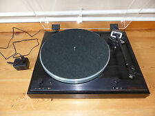 Thorens td 2001-disque turntable noir + Bague Or 1022gx