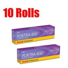 10 Rolls Kodak Portra 400 35mm 135-36 Professional Print Film Dated05/2018