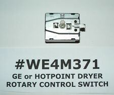 GE or HOTPOINT OEM DRYER SWITCH #WEM371 #WE4M409 #212D12661P001 FREE SHIPPING