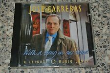 With a song in my heart / José Carreras (CD, Oct-1993, Teldec) GERMANY Like NEW