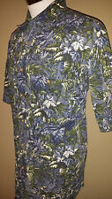 Orvis Floral Short Sleeve Hawaiin Fishing Shirt, Medium, Perfect Condition!