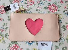 ⭐️LOVE MOSCHINO⭐️⭐️CHEAP AND & CHIC Naked Love Piccola Pelletteria Purse Bag⭐️