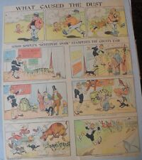 Simon Simple Sunday from ?/1904 Large Full Size Color  Page !