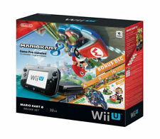 Brand New Nintendo Wii U 32GB Mario Kart 8 (Pre-Installed) Deluxe Set