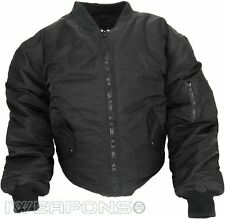 Undercover Flight Jacket Coat Concealable Bulletproof VEST IIIA/3A - Black - XL