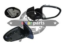 DOOR MIRROR FOR NISSAN DUALIS J10 11/2007-ON RIGHTHAND SIDE BLACK ELECTRIC 5 PIN