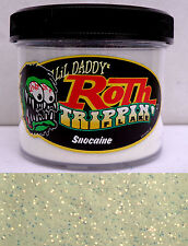 Lil Daddy Roth Metal Flake Snocaine trippin prismatic 2oz Jar Hot Rod Custom