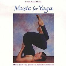 FREE US SH (int'l sh=$0-$3) ~LikeNew CD Steven Halpern: Music for Yoga