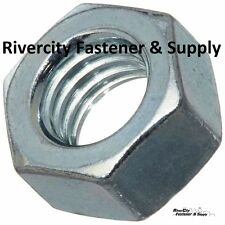 """(1) 1/2-13 Left Hand Thread Hex Nuts 1/2"""" x 13 With 3/4 Hex / Reverse Thread"""