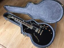 Epiphone Sheraton Electric Guitar Ebony 1995 With Fully Lined Epiphone Case