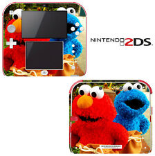 Vinyl Skin Decal Cover for Nintendo 2DS - Sesame Street Elmo Cookie Monster