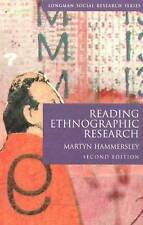 Reading Ethnographic Research (Longman Social Research Series) by Hammersley, M
