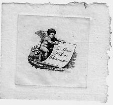 EX LIBRIS-ANGELOT-HÉLÈNE THURNAUER-REVELLAT-PARIS