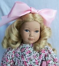 "Heidi Ott Little Ones 12"" CALLIE Curly Blonde Hair GIRL, Mint, No Box"