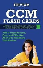 CCM Flash Cards : Complete Flash Card Study Guide for the Certified Case...