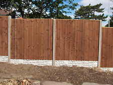 featheredge fence panels - Pressure Treated - Brown or Green