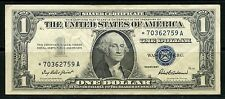 UNITED STATES 1957  $1  SILVER CERTIFICATE REPLACEMENT NOTE  CIRCULATED
