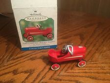 "2000 Hallmark 1940 Garton ""Red Hot"" Roadster Keepsake Ornament"