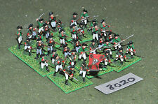 20mm napoleonic russian plastic 36 infantry (8020) painted