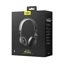 Jabra MOVE Bluetooth Wireless Stereo On Ear Headphones Black