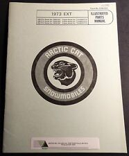 1973 ARCTIC CAT SNOWMOBILE EXT  PARTS MANUAL P/N 0185-029 NEW   (120)