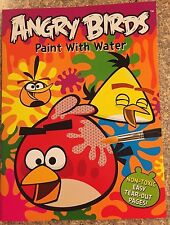 Angry Birds Paint With Water Book New Free Shipping
