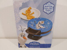 New Disney Frozen Olaf Waffle Maker Build Your Own Snowman Non Stick New iron