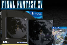 FINAL FANTASY XV LIMITED EDITION SONY PS4 PLAYSTATION 1TB SLIM LUNA CONSOLE NEW!