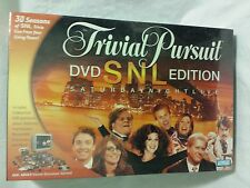New and Sealed Trivial Pursuit SNL DVD Edition Board Game 2004 Parker Brothers