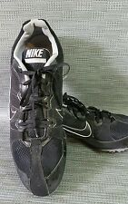 Men's size 13 black track & field Nike Zoom Rival MD cleats spikes(c10)