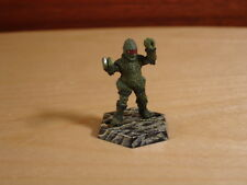 Doctor Dr Who Martian Ice Warrior Both Arms Raised, Metal Miniature, Painted RPG